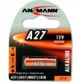 Batterie, A27, Ansmann Alkaline, 12V, 1er Blister (1516-0001)