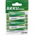 Akku, AA (Mignon), 2350mAh, 4er Blister, InLine®