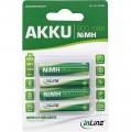 Akku, AAA (Micro), 900mAh NiMH, 4er Blister, InLine®