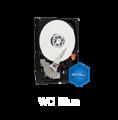 """HD  8,89cm (3,5"""")  4TB, WD, blue WD40EZRZ, SATAIII, 64MB"""