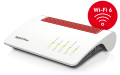 NET, WLAN Wi-Fi 6, Modem-Router, AVM Fritz!Box 7590AX
